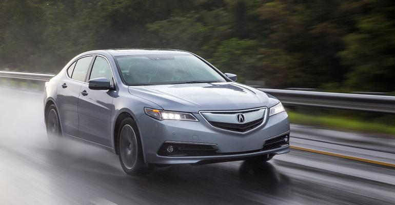 rsquo15 Acura TLX on sale now in US