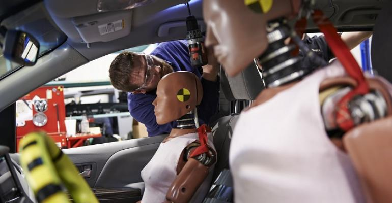 Can take as long as 12 days to prep for crash test Toyota says