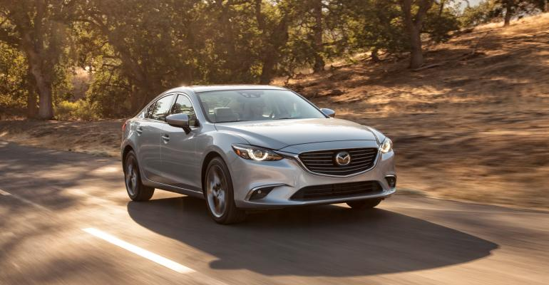 rsquo16 Mazda6 receives new front grille with horizontal flow