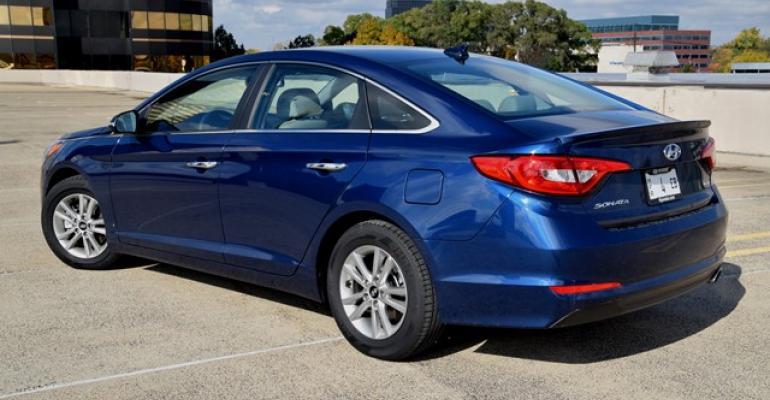 Hyundai Sonata Eco Delivers 32.5 MPG