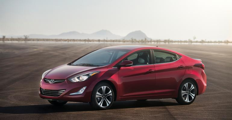 Elantra one of Hyundai models affected by restatements