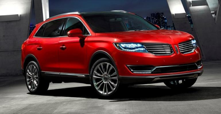 Styling of allnew Lincoln MKX is stately distinguished