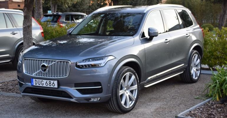 XC90 springs from Volvorsquos new Scalable Platform Architecture