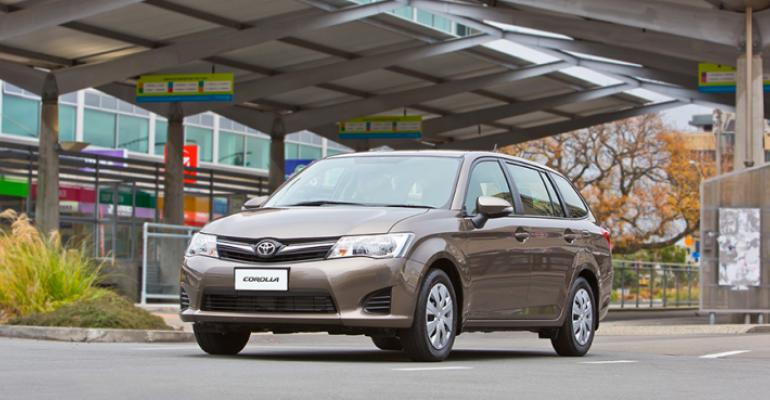 Rental business helps make Corolla monthrsquos bestselling model