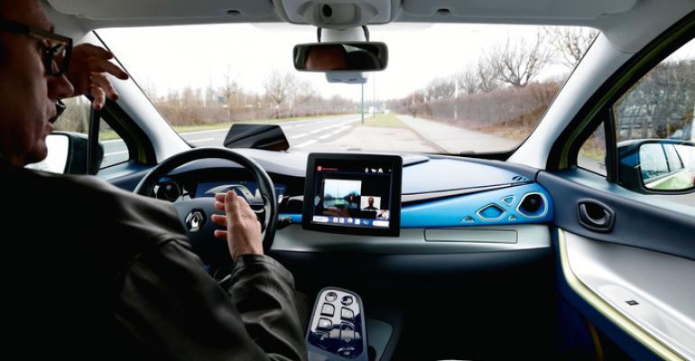 Autonomouscar trials under way in UK