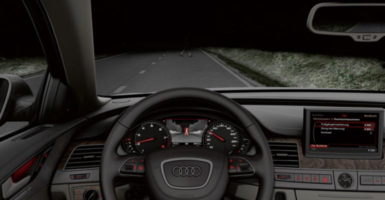 Night vision spots objects three times farther away than headlamps can supplier says