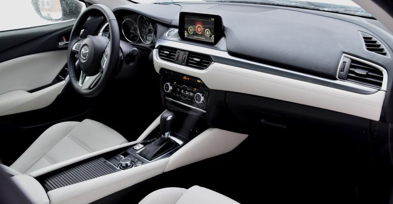 With its upscale equipment and just right touch of bling Mazda6 looks like luxury car