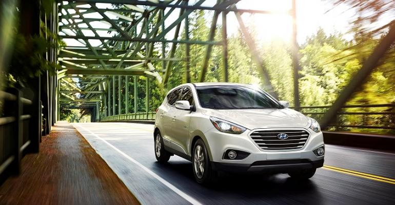 Some 71 Tucson FCVs leased in US