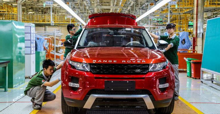 Automaker launched overseas production in China in October