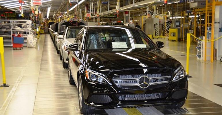 Mercedes CClass among handful of European vehicles penetrating Vietnam