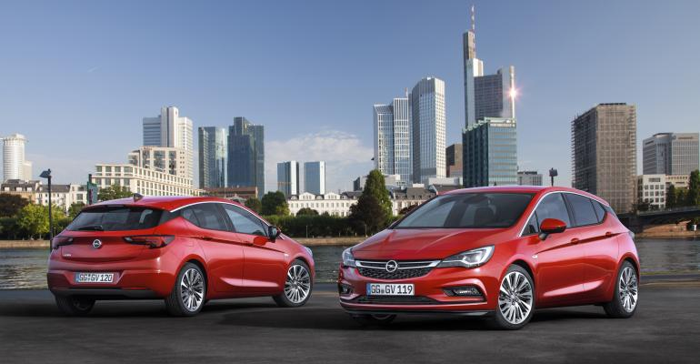 Redesigned Opel Astra bows at next monthrsquos IAA