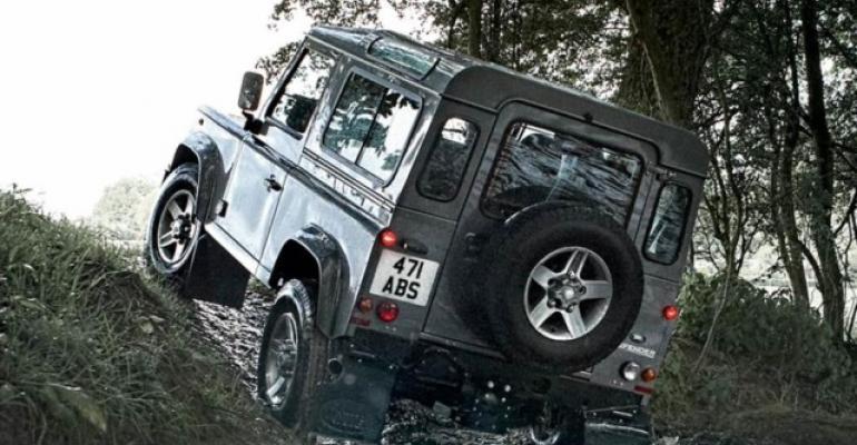 JLR Slovakia plant could build nextgen Land Rover Defender