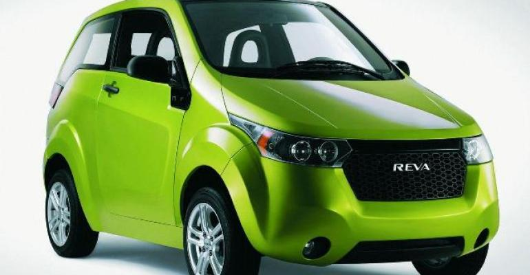Government subsidizing purchases of Mahindra Reva39s e2o EV