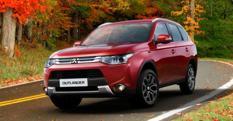 Mitsubishi Outlander UKrsquos most popular EV
