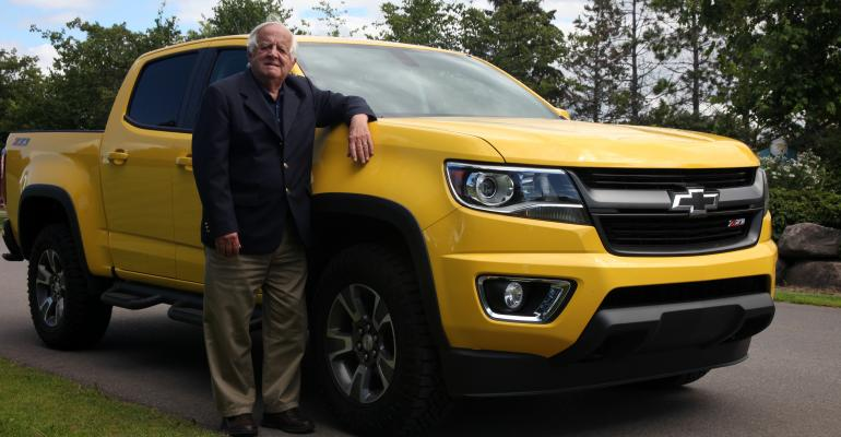 Dave Smith with Chevrolet Colorado