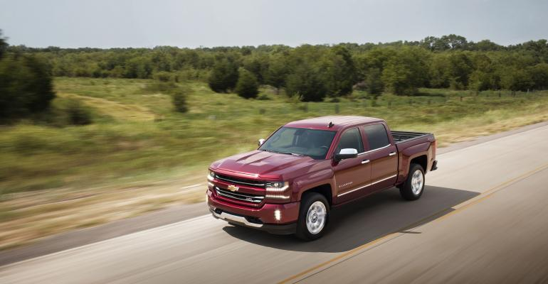 Chevy Silverado sales up 166 this year ahead of rsquo16 refresh