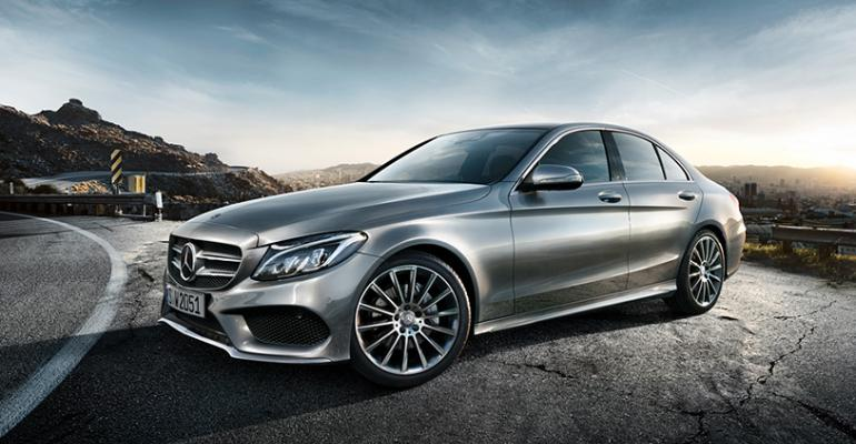 CClass Mercedesrsquo top seller in Russia