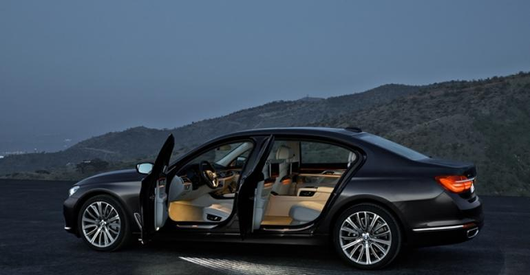 New 7Series conservatively styled on outside but stateofart inside cabin