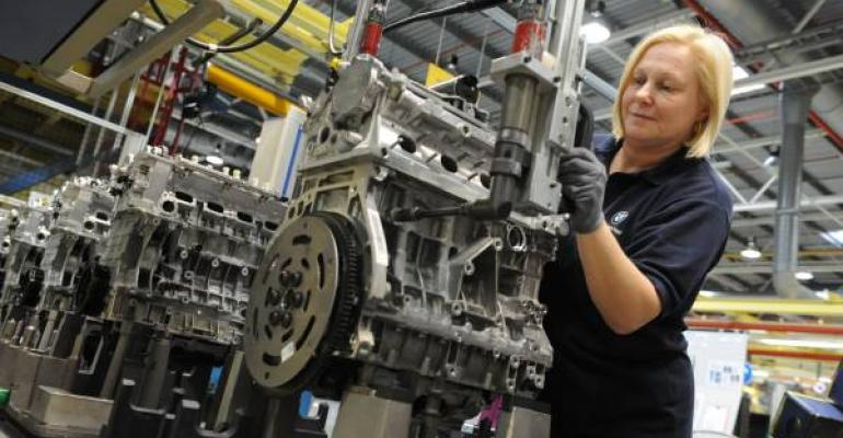BMW investing in workforce as well as manufacturing capability