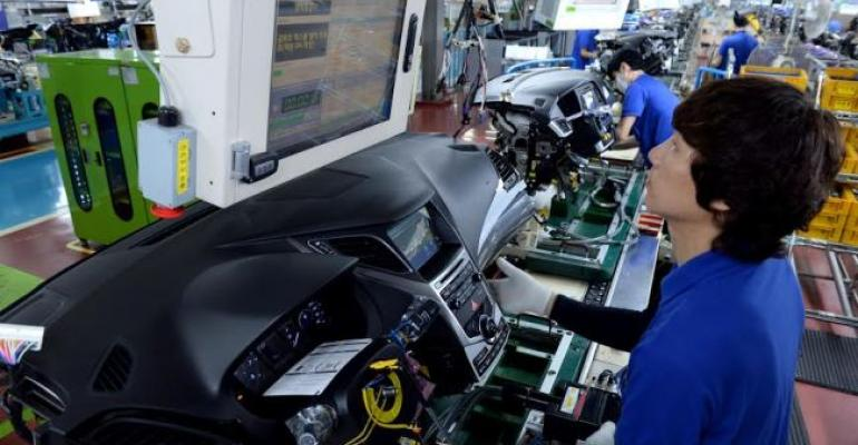 Hyundai Mobis shipping modules to nearby Hyundai plant  for now