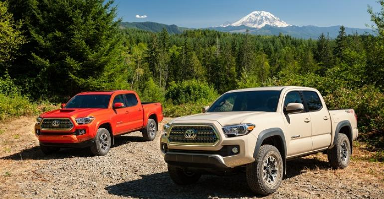 Toyota says rsquo16 Tacoma attracting younger buyers