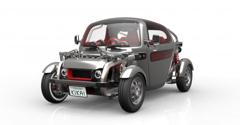 Toyota Kikai glimpses at future