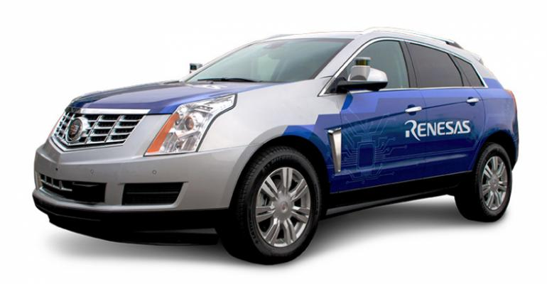 Microprocessor supplier Renesas is developing a fleet of autonomous vehicles that will be an open laboratory for automotive customers and vendors and serve as a ldquosandboxrdquo for new ideas