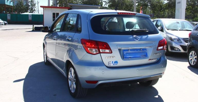 BAIC e150 Chinarsquos bestselling allelectric vehicle