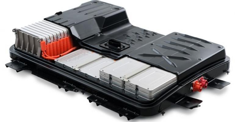 Liion battery of choice in many EVs ndash for now