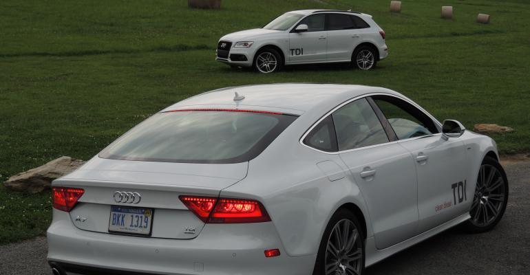 Audi A7 Q5 30L TDI V6 now implicated in VW emissionscheating scandal