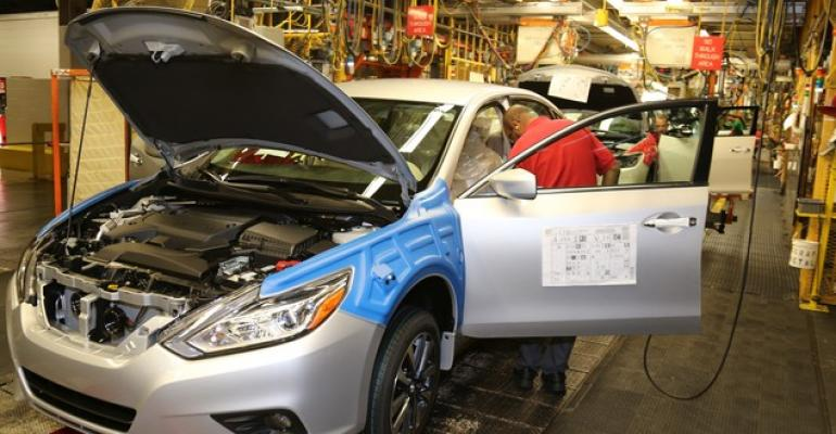 Refreshed Altima output launched Oct 26 at Smyrna TN