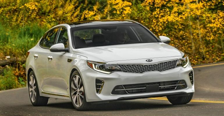 3916 Kia Optima on sale nationwide this month