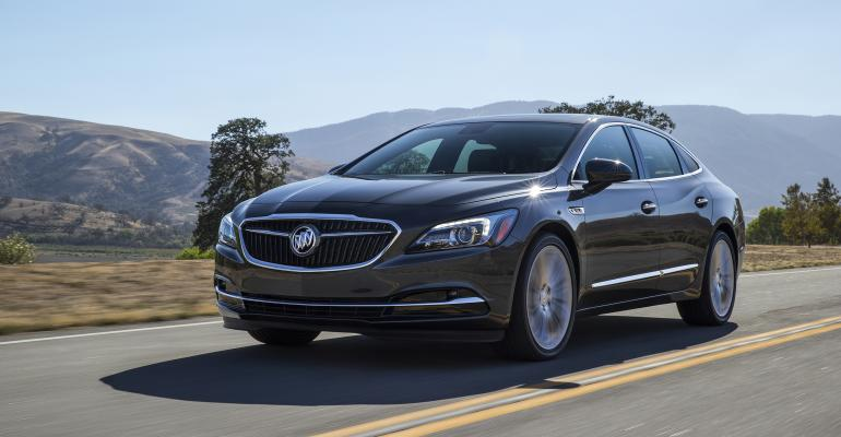 New grille key element of Buick LaCrosse redesign
