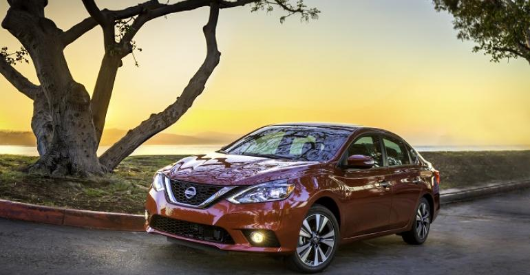 3916 Sentra on sale now at US Nissan dealers