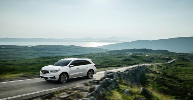3917 MDX on sale this summer at Acura dealers