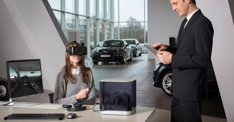 Virtual-Reality Check: Will Car Dealership Shoppers Go for VR Goggles?