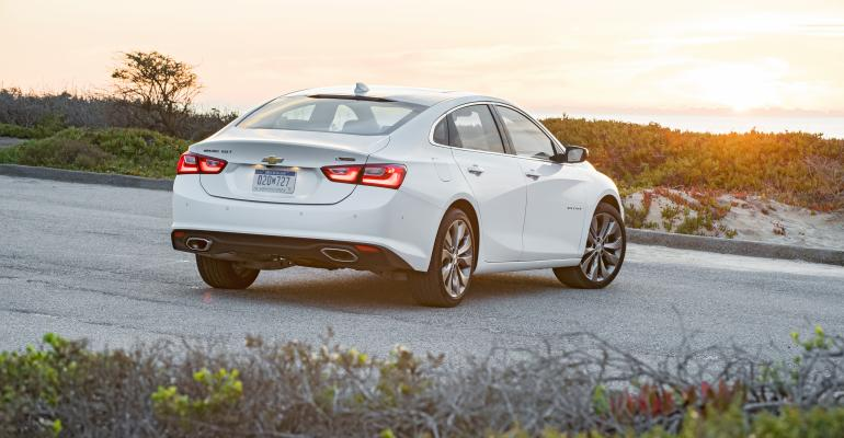 Redesigned rsquo16 Chevy Malibu off to brisk start