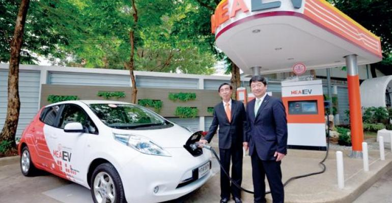 Government Nissan launched EV infrastructure program in 2013