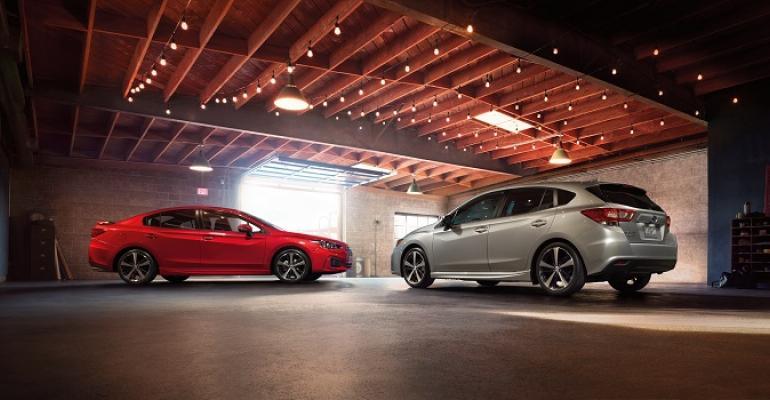 3917 Impreza sedan and hatchback on sale late 2016