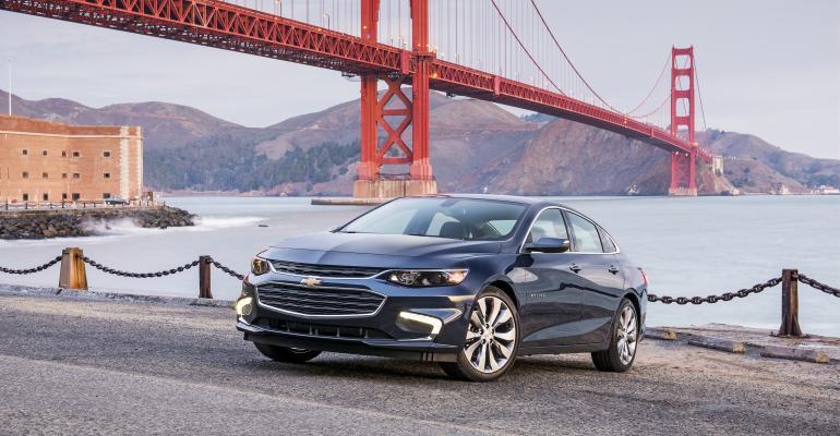 Chevy Malibu sales rise 234