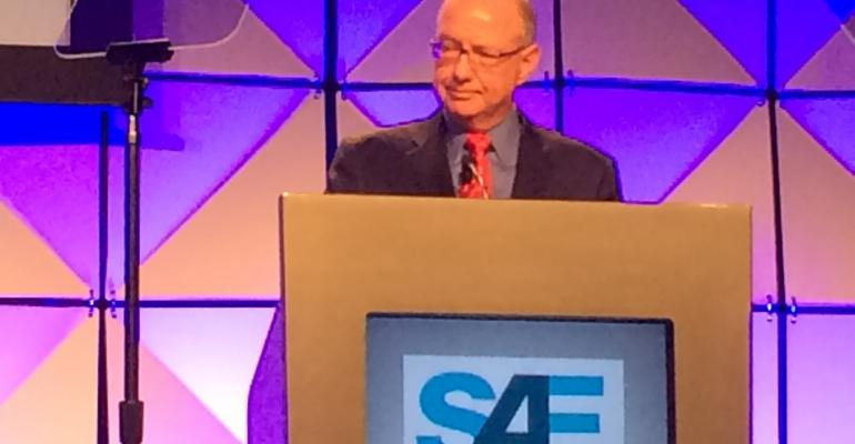 Michigan transportation head Steudle speaks at SAE