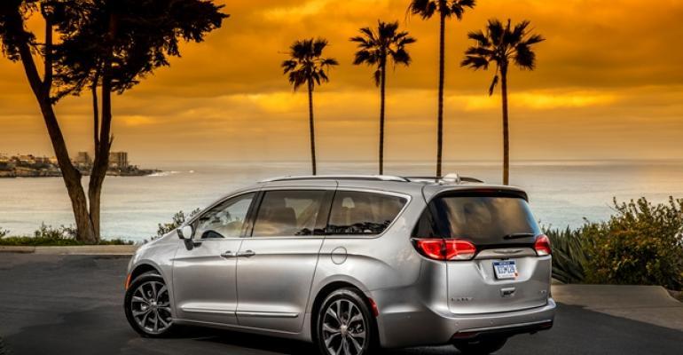 Pacifica eschews AWD but matches Toyota Hondarsquos 8passenger seating