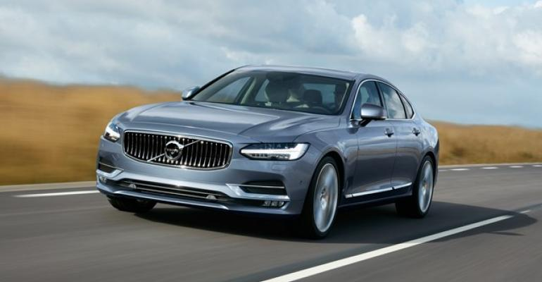 Volvo expects S90 to draw 15000 buyers