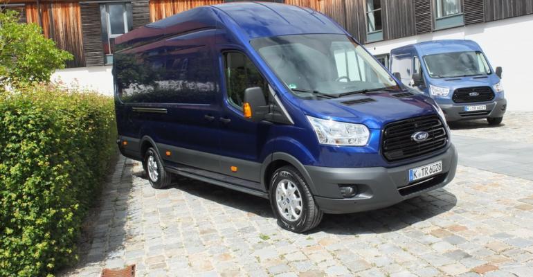 Transit 2ton van shares new 20L turbodiesel with smaller Transit Custom