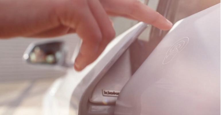 Kiekertrsquos ELatch shown on the 2015 Geneva auto show Budii concept