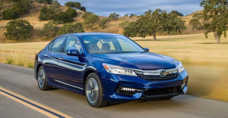 3917 Accord Hybrid on sale now at US Honda dealers