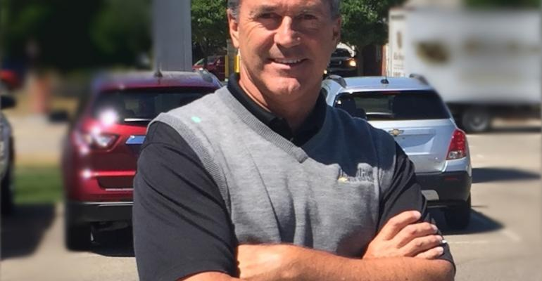 Dealer principal Mike Boguth started working at Hamilton Chevy as a porter