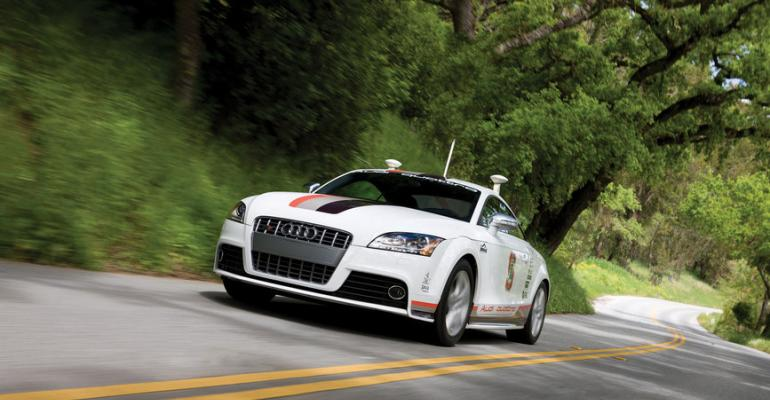 Australia on move could demand tweak to driverless Audirsquos GPS