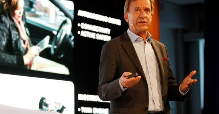 Samuelsson Once consumers drive it they wonrsquot want to give it up