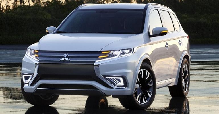 Mitsubishi Outlander UKrsquos topselling plugin hybrid
